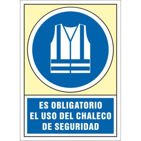 Es obligatorio el uso del chaleco de seguridad