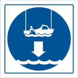 SYSSA,Señal Arríen;en bote de rescate