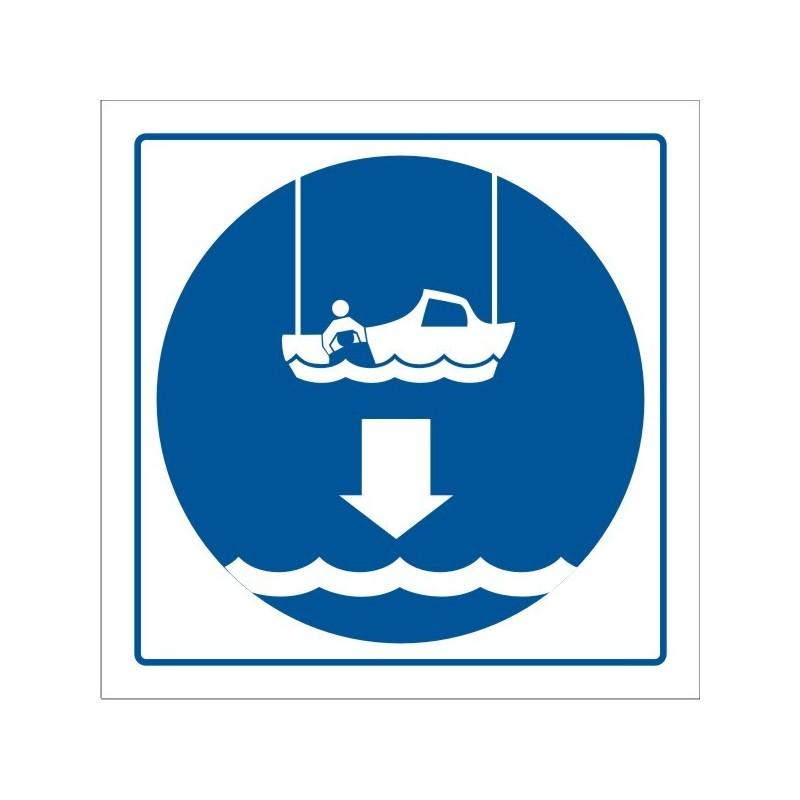 406S-OMI - Arríen bote de rescate - Referencia 406S