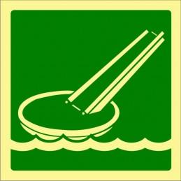 SYSSA,Señal Rampa de evacuación