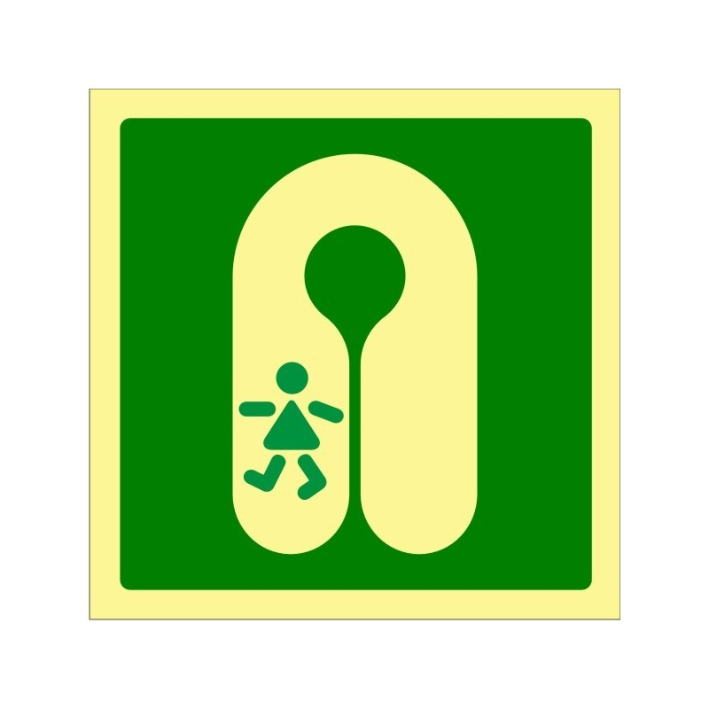 422F-OMI - Chaleco salvavidas para Niños Fotoluminiscente - Referencia 422F