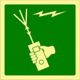 SYSSA,Señal Aparato radioeléctrico portátil para embarción de superviv