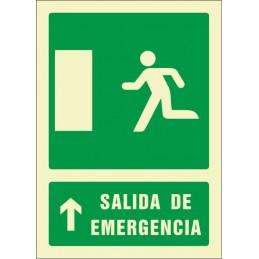 SYSSA,Señal Salida de emergencia flecha arriba