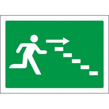 Escalera de emergencia abajo derecha