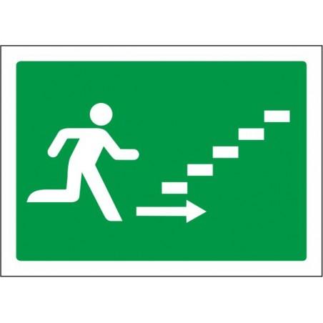 Escalera de emergencia arriba derecha