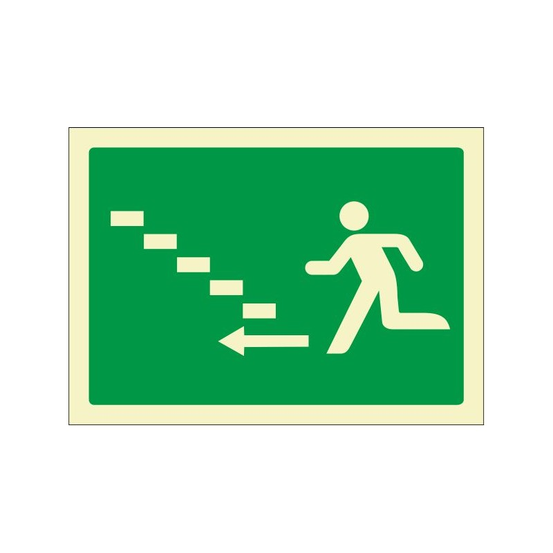 5028F-Escalera de emergencia arriba izquierda