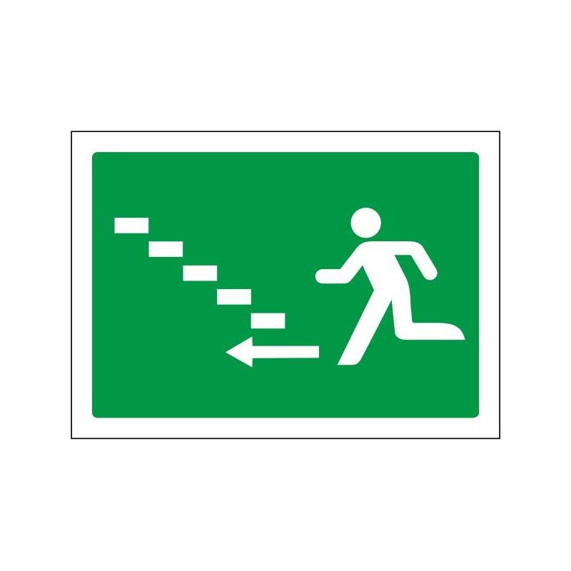 5028S-Señal Escalera de emergencia arriba izquierda - Referencia 5028S