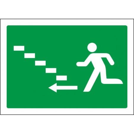 Escalera de emergencia arriba izquierda