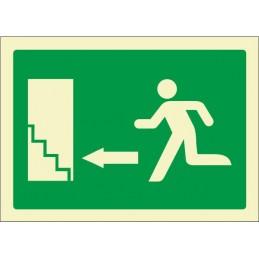 Escala d'emergència amunt...
