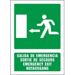 Sortida d'emergència...