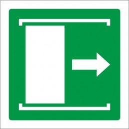 Senyal lliscar per obrir -...