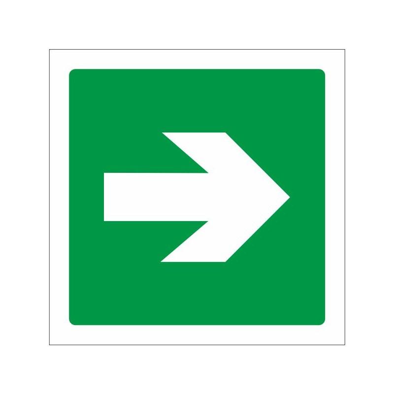 7010S-Senyal Via d'evacuació - Referència 7010S