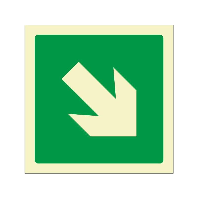 7011F-Senyal Via d'evacuació fotoluminiscent - Referència 7011F