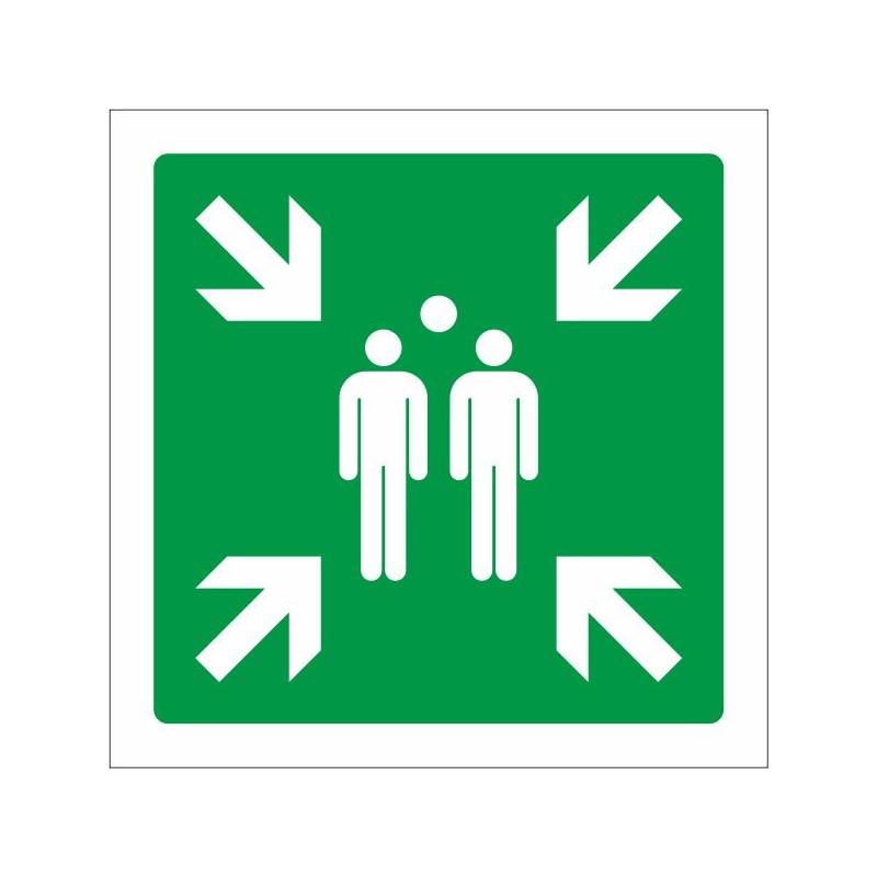 7061S-Placa Punto de reunión - Referencia 7061S