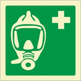 SYSSA,Señal máscara de emergencia