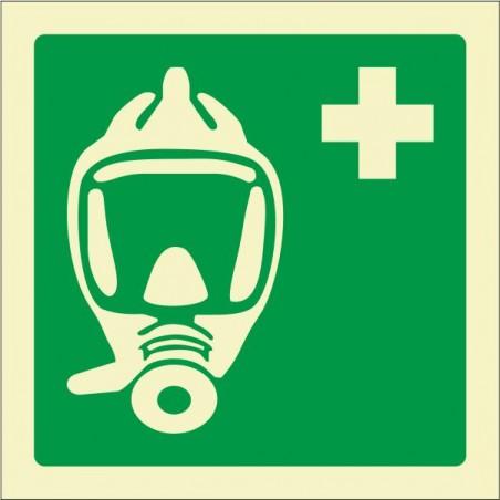 máscara de emergencia