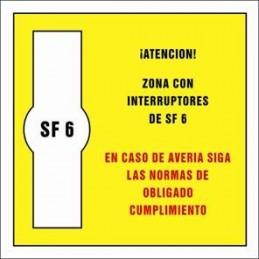 SYSSA,Señal Zona con interruptores de SF 6
