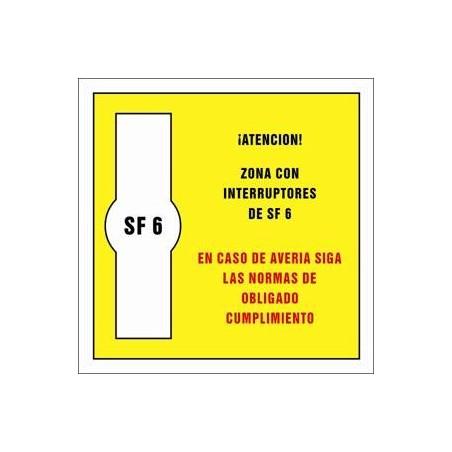 Zona con interruptores de SF 6