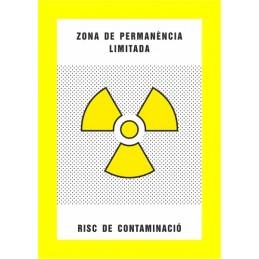 SYSSA,Señal Zona de permanencia limitada Riesgo de contaminación