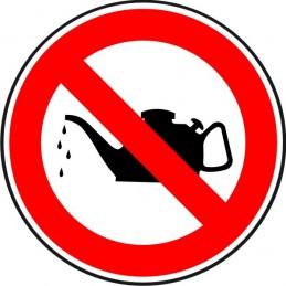 SYSSA, Senyal  Prohibit greixar les màquines en funcionament