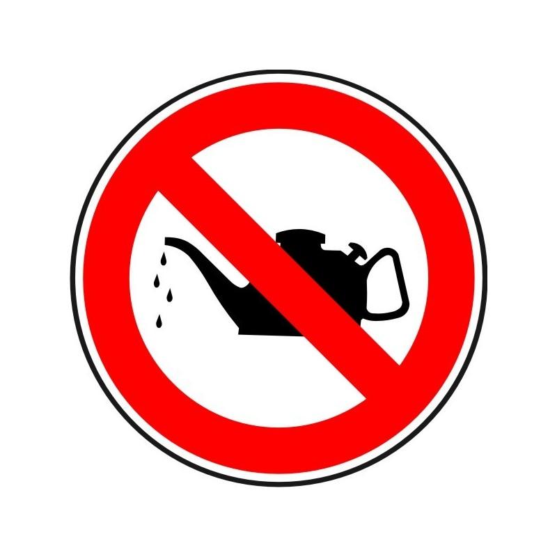 EMF-Disco Prohibido engrasar las Máquinas en funcionamiento - Referencia EMF