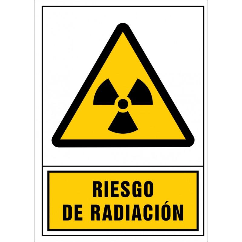 2050S-Señal de Riesgo de radiación - Referencia 2050