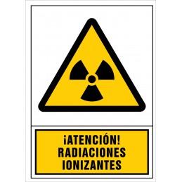 SYSSA,Señal ¡Atención!Radiaciones ionizantes