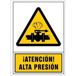 Atenció! Alta pressió