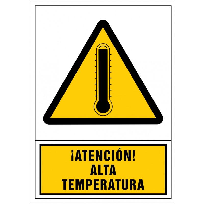 2077S-Señal de ¡Atención! Alta temperatura - Referencia 2077