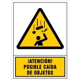 SYSSA,Señal ¡Atención! Posible caida de objetos