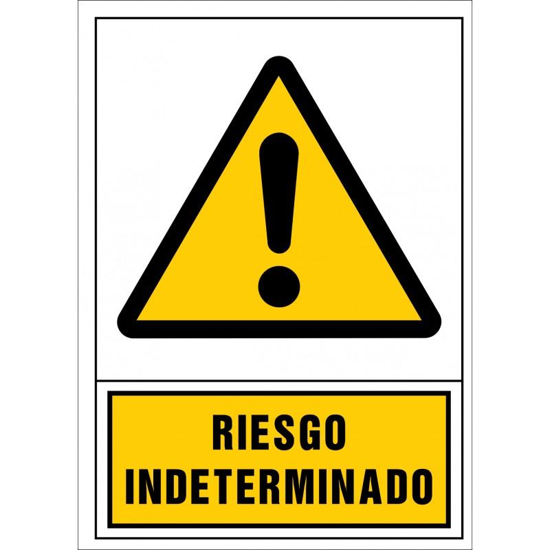 2086S-Señal de Riesgo indeterminado - Referencia 2086