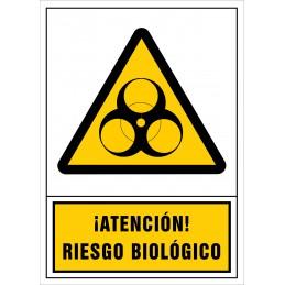 SYSSA,Señal ¡Atención! Riesgo biológico