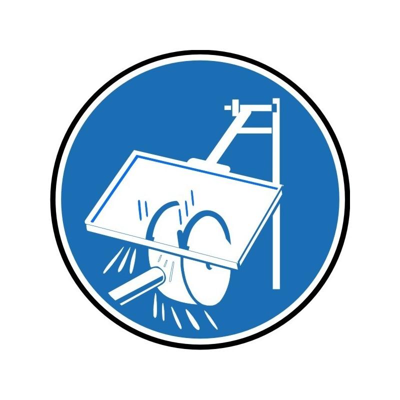 UPM-Disco Es obligatorio el uso de protector de mola - Referencia UPM