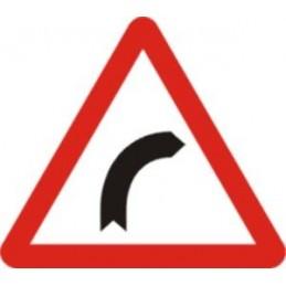 SYSSA,Señal Curva peligrosa hacia la derecha
