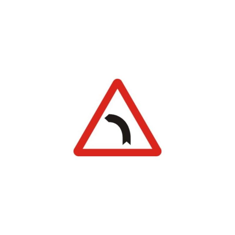 P13b-Curva peligrosa hacia la izquierda