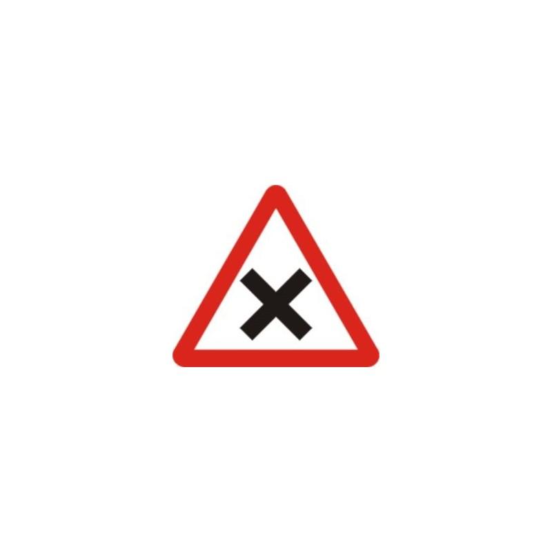 P2-intersección con prioridad de la derecha