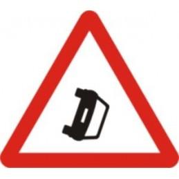 Obstrucció en la calçada