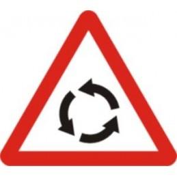 SYSSA,Señal intersección con circulación giratoria