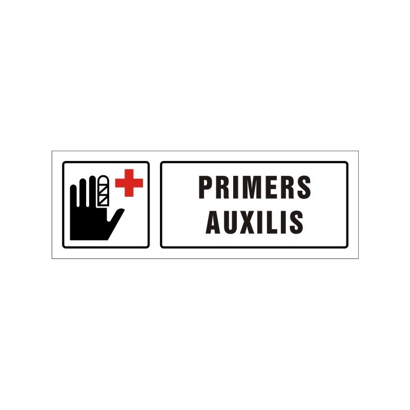 1518S-Cartel Primeros auxilios - Referencia 1518S