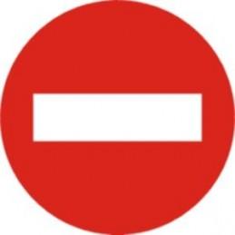 Senyal Entrada prohibida-...