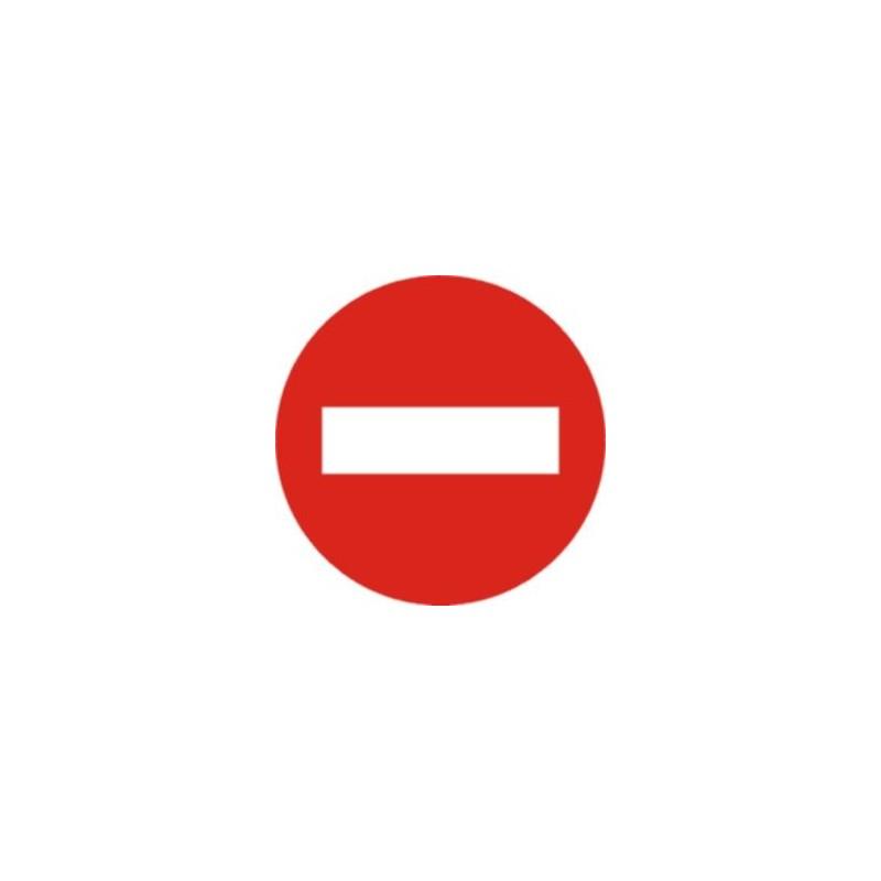 R101-Señal Entrada prohibida - Referencia R101 Tipo económica