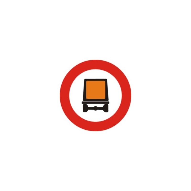 R108-Entrada prohibida a vehicles que transportin mercaderies perilloses