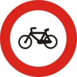 Entrada prohibida a cicles...