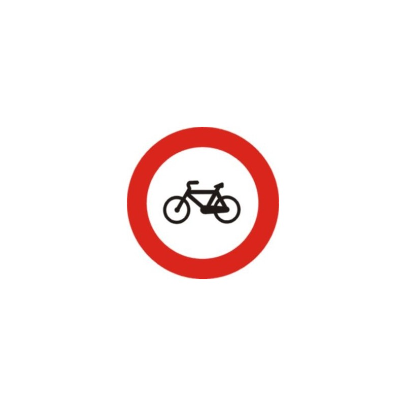 R114-Entrada prohibida a cicles R114 - TIPUS ECONOMIC