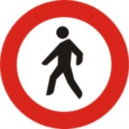 Entrada prohibida a vianants