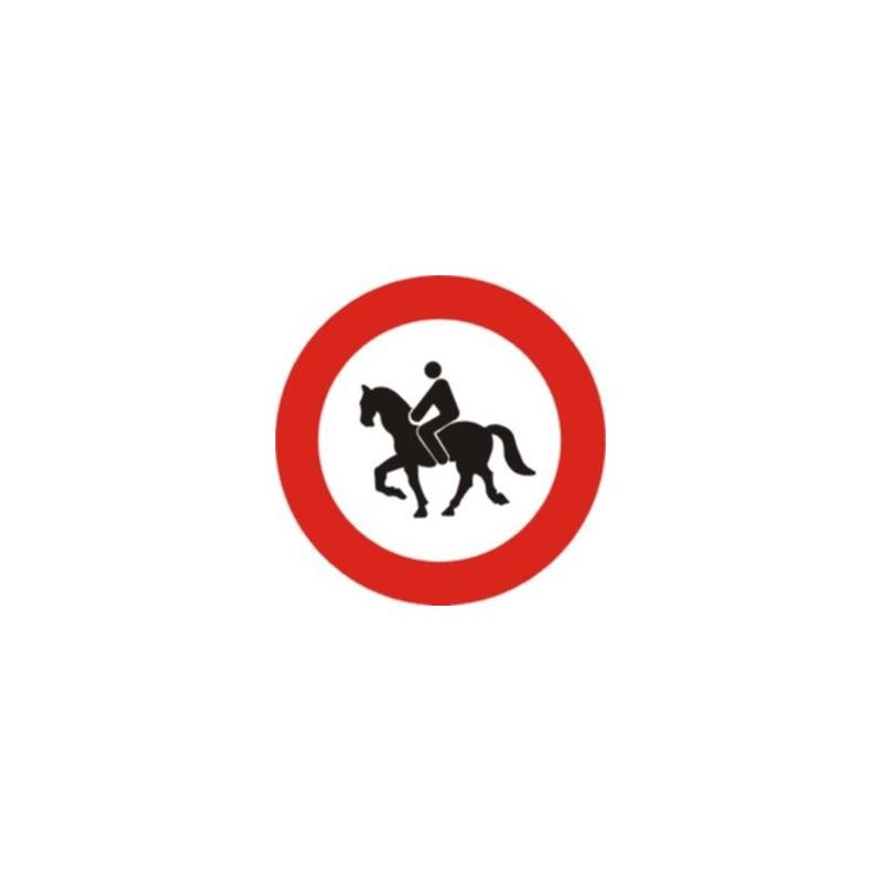 R117-Entrada prohibida a animals de muntura