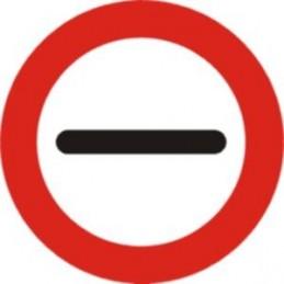 Prohibició de passar sense...