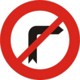 Gir a la dreta prohibit