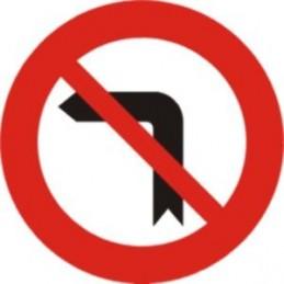 SYSSA - Giro a la izquierda prohibido ECONOMICA - Referencia R303