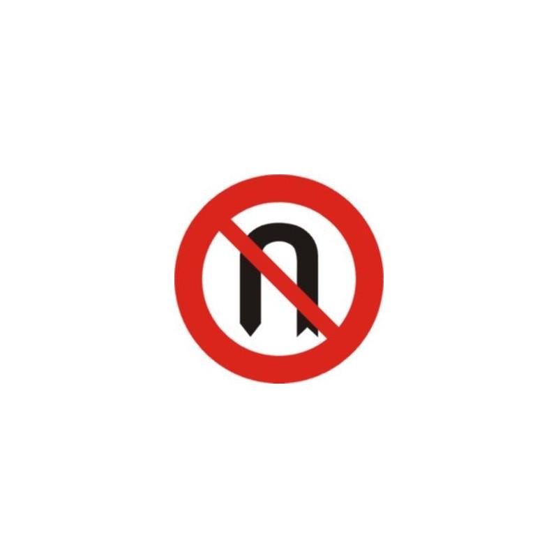 R304-Media vuelta prohibida